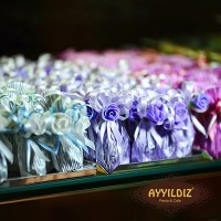 Mavi çiçekli badem